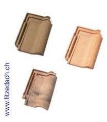 Fitze Dach AG Muster Pfannenziegel in verschiedenen Farben