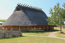 Eisenzeit Haupthaus für Mensch und Vieh, Rettdach