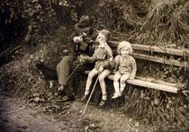 Das Forsthaus, Mit Opa im Wald, Erinnerungen, Kindheit