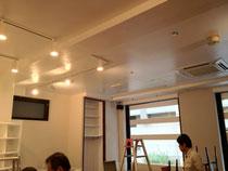 レストラン LED照明化