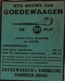 Advertentie uit 1935