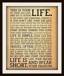 情熱を身にまとい、自分の夢を生きよう