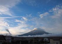 紅葉の富士山