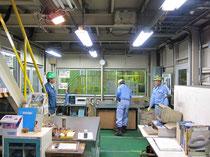 大手製鉄会社の工場照明