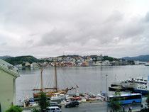 De haven van Kristiansund.