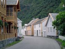 Mooie huizen in Laerdal.