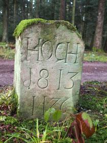Grenze Hochmössingen / Römlinsdorf