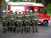 Teinehmende Mannschaft der FF-Techelweg:
