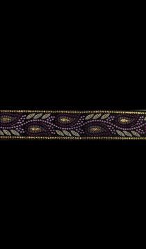 Band 54 - Ornament lila 18mm !!Geringer Bestand!!