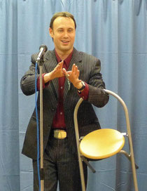 Professional stage and cabaret magician. West Midlands.