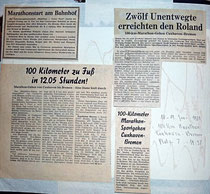 Zeitungsartikel über Hans Pick