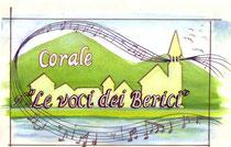 Disegno originale di Benedetta Pasetto per logo corale