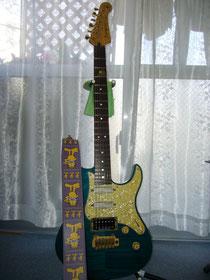 教室で使用しているエレキギター