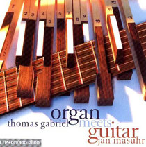 "CD ""organ meets guitar"""