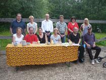 Gruppenbild Hippotherapie