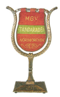 Standarte des MGV Tandaradei Nordborchen 1904 e.V.