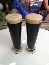 dunkler Doppelbock im Glas