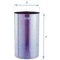 290 Liter Chromstahltank