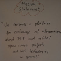 PHPucEU / Draft Mission Statement