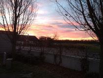 Sonnenaufgang in Kehl
