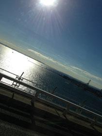 朝10時の東京は晴天。