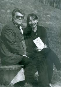 """Gerd Seidl illustrierte das Buch von Elisabeth Neumayer """"Herz und Sterz""""."""