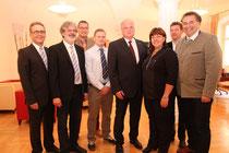 Bürgermeister Resch empfing AMS-Geschäftsstellenleiter Erwin Kirschenhofer und sein Team. Foto: zVg