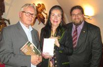 Foto v.l.n.r.: Rudolf Nährig, Elisabeth Brunner, GR Mag. Klaus Bergmaier. Foto:zVg