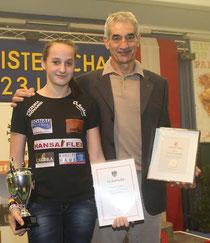 Sarah Fischer mit Vinzenz Hörtnagl. Foto: zVg.