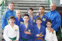 Team des Judoklub Krems