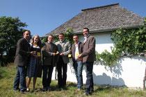 Franz Ilkerl, Katharina Brandstetter, Herbert Renner, Magistratsdirektor Mag. Karl Hallbauer, Franz Ilkerl junior © Stadt Krems