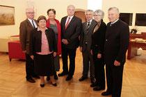 Bürgermeister Dr. Reinhard Resch und Stadträtin Mag. Anna Wegl empfingen den neuen Vorstand der Deutsch-Österreichischen Gesellschaft. Foto:zVg