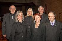 V.l.n.r. Karl Jirowsky, Susanne Raffetseder, Silvia Starkl, Monika Krakhofer, Wilhelm Bauer, Univ.Doz. Dr. Franz Schmatz. Foto: zVg