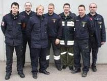 Absolventen (Bezirk Krems) der Ausbildungsprüfung Atemschutz. Foto: BFK-Krems