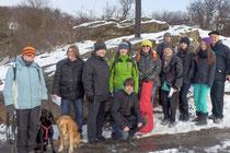 Die Teilnehmer der Emmauswanderung. Foto: Pfarre St. Paul