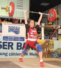 Sarah Fischer stellt neue österreichische Rekorde auf. Foto: Markus Koch.