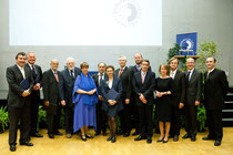 Ehrenverleihung. Foto: Donau-Universität Krems/Röckl
