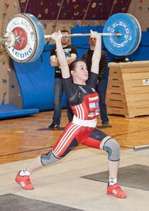 Gewinnerin des Schülercups, Sarah Fischer. Foto: ACU Krems