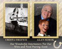 Crista Orefice and Alan Semok