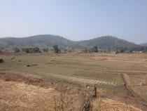 クンユアムの田園風景