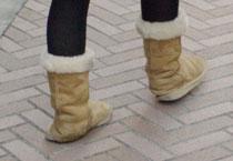 Offensichtlich das diese Schuhe nichts taugen