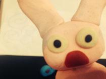 食いしん坊ウサギ