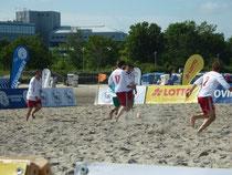 Gegen die Mannschaften der German-Beach-Soccer-League blieb der SVTB ohne Chance