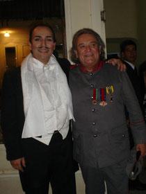 Pedro Espinoza y Coco Legrand