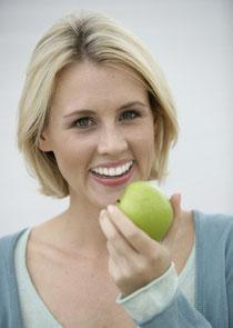 Sehen einfach nur gut aus: Weiße Zähne! © proDente e.V.
