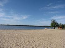 la plage lac lacanau