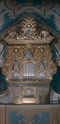 Organo de' Simone, 1747
