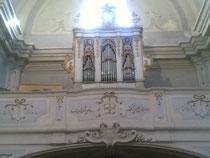 Organo Pietro De Simone jr, 1743