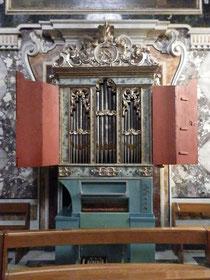 Organo Pietro De Simone 1762