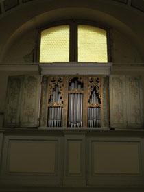 Organo anonimo, XVIII sec.